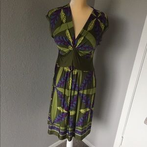 Dress By Philosophy Di Alberta Ferrety Rayon SZ 6